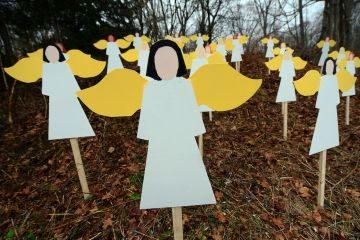 Memorial for victims of Sandy Hook tragedy