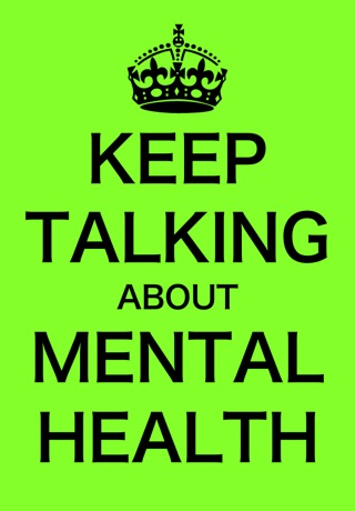 keep talking about mental health Get that child a therapist! Mental health services recap